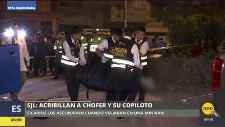 Sicarios mataron a un colectivero y su pasajero en San Juan de Lurigancho