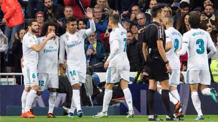 Real Madrid goleó 3-0 a Las Palmas en el Santiago Bernabéu