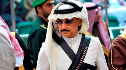 El multimillonario príncipe Al Waleed fue arrestado por corrupción  en Arabia Saudita