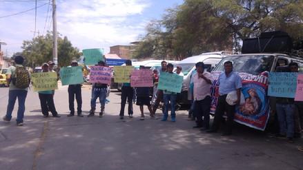 Transportistas del Medio Piura exigen autorización para circular