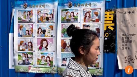 Dibujos animados alertan a niños chinos del peligro del espionaje extranjero