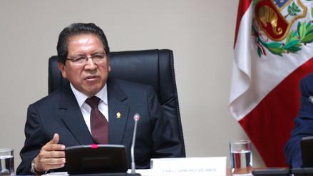 La Junta de Fiscales Supremos respalda a Pablo Sánchez y exige respeto al Ministerio Público