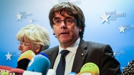 La presencia de Puigdemont genera tensión en el Gobierno de Bélgica