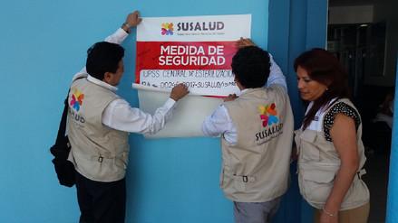 SuSalud suspende central de esterilización del IPO en Piura