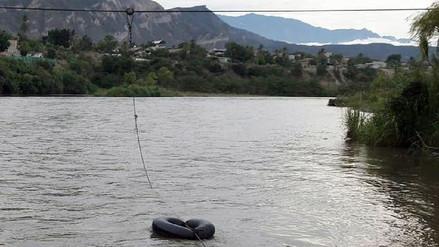Dos escolares desaparecidos tras caer al río Marañón