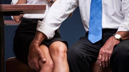 El acosador sexual trata de persuadir a su víctima