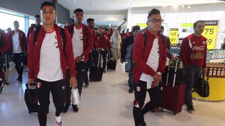 Selección Peruana llegó a Nueva Zelanda para el duelo de repechaje