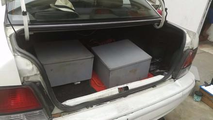 Intervienen a dos personas e incautan 145 paquetes de cocaína en Los Olivos
