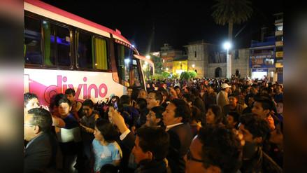 Multitud recibió al Deportivo Palmas en Chota