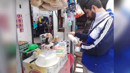 Detectan puestos de venta insalubres en mercado La Unión en Trujillo