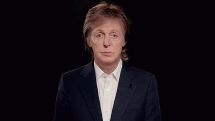 Video | Paul McCartney propone dejar de comer carne los lunes