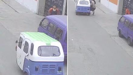 Un ladrón atacó a una joven con un desarmador para robarle su celular