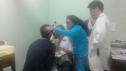 Chimbote: estudiante se incrustó por accidente clavo en el ojo