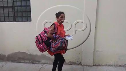Chanchamayo: mujer víctima de agresión sexual declaró en Fiscalía
