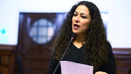 Cecilia Chacón fue elegida como presidenta de la Comisión de la Mujer