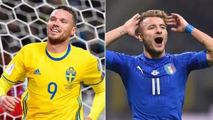 Italia y Suecia, el plato fuerte de la repesca europea a Rusia 2018