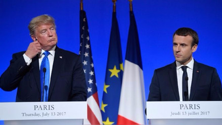 Francia invitó a 100 jefes de Estado a la cumbre sobre el clima, pero no a Donald Trump