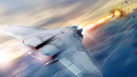 Aviones caza de los EE.UU. serán equipados con armas láser