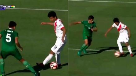 Peruano deslumbró en el Sudamericano Sub 15 por su brillante jugada