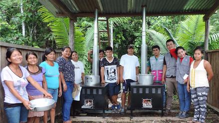 Distribuyen cocinas saludables para centros educativos de Amazonas