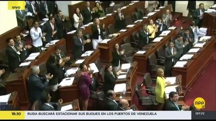Fuerza Popular celebró el resultado del interrogatorio a Marcelo Odebrecht en el Pleno