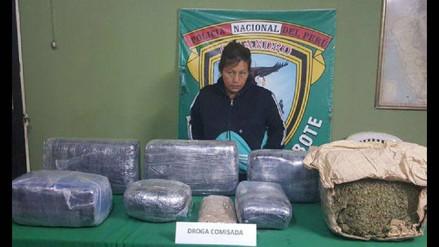 Chimbote: sentencian a mujer por trasladar casi 40 kilos de droga