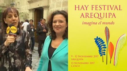 Hay Festival 2017 se inició en Arequipa