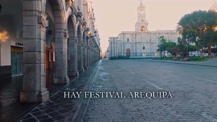 El tercer Hay Festival de Arequipa se inauguró este jueves