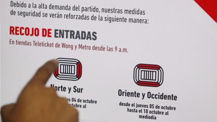 Indecopi sigue fiscalización de entrega de entradas para Perú y Nueva Zelanda