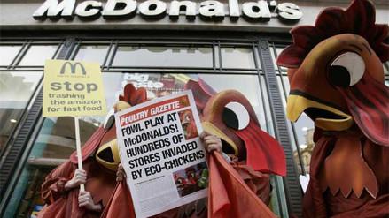 Cómo McDonald's contribuye a la deforestación de la Amazonía
