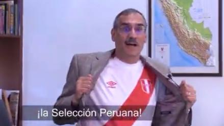 El embajador de EE.UU. en Perú se unió a la hinchada ante el partido con Nueva Zelanda