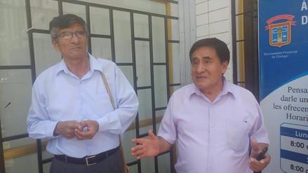 Empleados y obreros del municipio de Chiclayo suspenden inicio de huelga