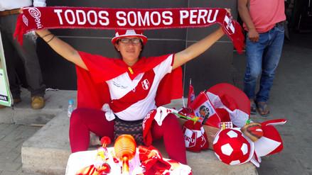 Comercio ambulatorio se incrementa con la venta de camisetas de Perú