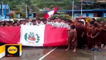 Niños de comunidad Asháninka enviaron mensaje de aliento a la Selección