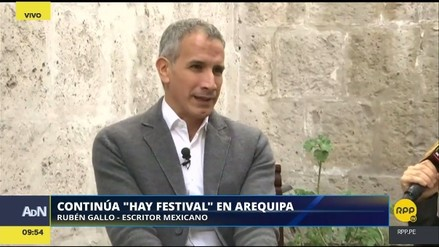 """Hay Festival   Rubén Gallo: Mario Vargas Llosa representa la literatura con """"L"""" mayúscula"""