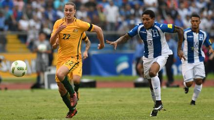 Honduras no pudo superar a Australia y pone en riesgo su clasificación