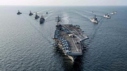 Corea del Sur y Estados Unidos empezaron maniobras militares en el mar de Japón