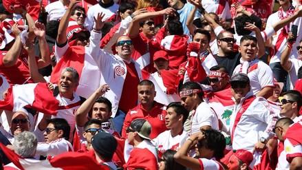 El Westpac Stadium agradeció a los hinchas peruanos