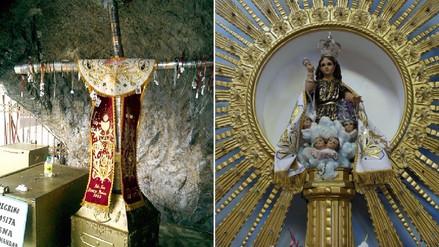 Preparan vestimentas para imágenes de Cruz de Motupe y Divino Niño del Milagro