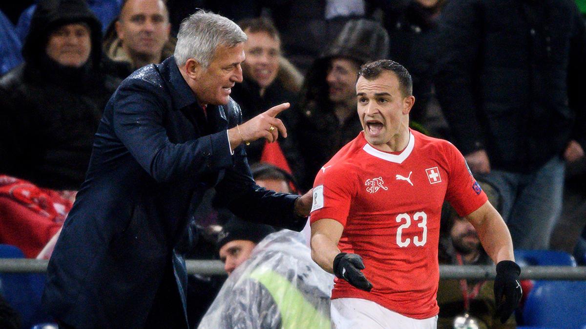 Suiza recibe a Irlanda del Norte para sellar su clasificación a Rusia 2018