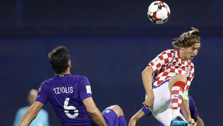 Croacia visita a Grecia para consagrar su clasificación a Rusia 2018