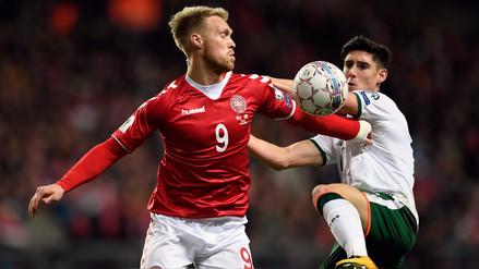 Dinamarca empató ante Irlanda y dejó la llave abierta a Rusia 2018