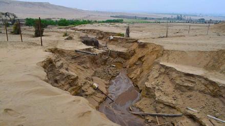 Huaral: vecinos de Aucallama piden cierre de penal por verter aguas servidas
