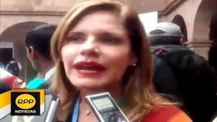 Mercedes Aráoz evitó hablar sobre cuestionamientos de Keiko Fujimori