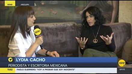 Lydia Cacho y un libro que da voz a las víctimas de explotación sexual
