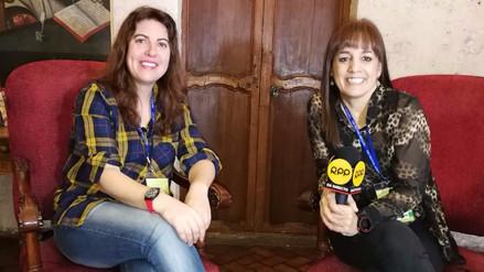 """Laura Fernández: """"De mayor, tú escribes para seguir jugando"""""""