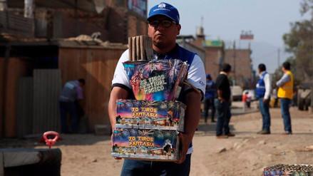 Municipalidad de Lima incautó en Puente Piedra insumos para pirotécnicos detonantes