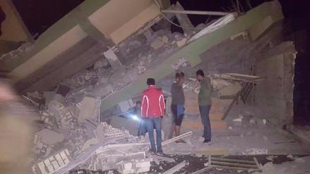 Estas imágenes confirman el nivel destructivo del terremoto en Irak