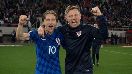 Luka Modric tras clasificar al Mundial: