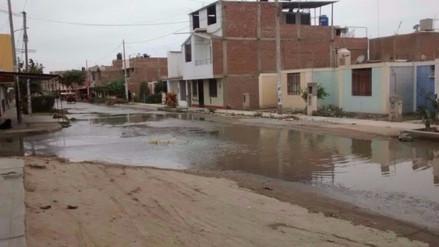 Colapsó desagüe en el Cercado de Chincha